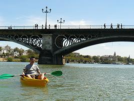 Entrada Ruta En Kayak Por El Río Guadalquivir