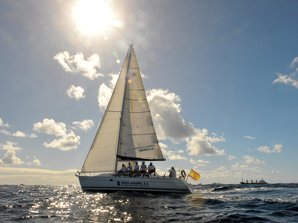 Paseo en barco por Las Palmas