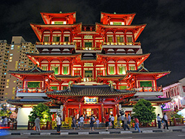 A night out in Singapore's Chinatown, Singapore