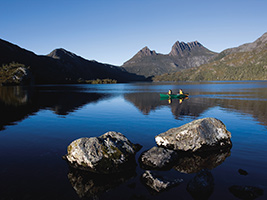 how to go to cradle mountain from launceston
