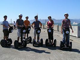 Segway Guided Tour, San Francisco Area - CA
