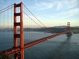 Bike Guided Tour in English, San Francisco Area - CA