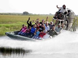 City Tour and Everglades Airboat Adventure Tour, Miami Area - FL
