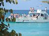 El Fieston - crucero Isla Catalina y carnaval dominicano desde Juan Dolio