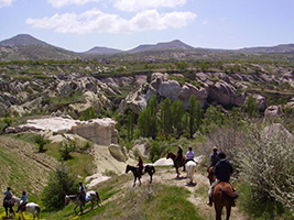Horse Riding in Cappadocia Valley, Cappadocia
