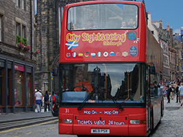 City Sightseeing Edinburgh Hop On-Hop Off, Edinburgh