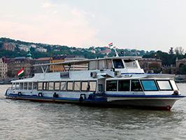 Danubio cruise, Budapest
