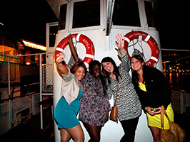 Party and cruise on the Danube, Budapest