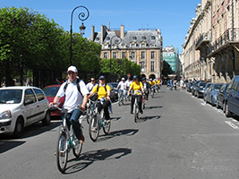Paris Past and Present by Bike, Paris