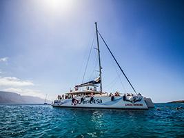 Catamaran trip - I Love La Graciosa, Lanzarote
