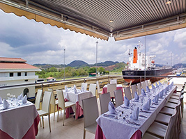 Dinner at the Magical Panama Canal, Panama City