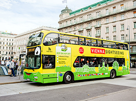 Vienna Hop-on Hop-off Bus Tour and Guided Walking Tour, Vienna