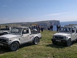 Gozo Jeep tour, Malta