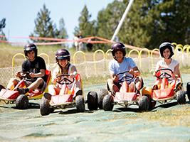 Vallnord karts descent circuit