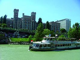 Romantic Danube Boat Trip, Vienna