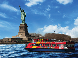 Special Offer: Hop On Hop Off Sightseeing Ferry, New York Area - NY