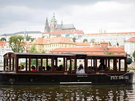 Vltava River sightseeing cruise, Prague