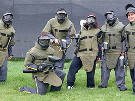 Paintball in Cota, Bogota