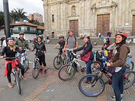 Bogotá bike tour, Bogota