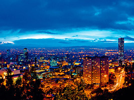 The highlights of Bogota's historic city centre, Bogota