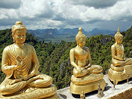 Krabi City and Temples Private Tour, Krabi