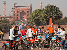 Old or New Delhi by bike, Delhi and NCR