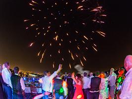 Wavedancer fireworks night, Cyprus