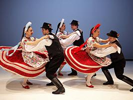 Hungarian Dance Performance, Budapest