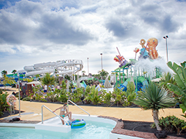 Aqualava Water Park with Transport, Lanzarote
