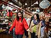Visita al mercado gastronómico de Granville