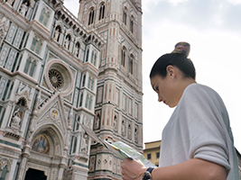 Visit to the Terrace of Florence Cathedral, Florence