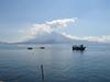 Excursión en barco por el lago de Atitlán
