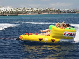 Crazy UFO Water Ride, Lanzarote