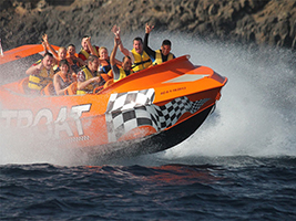 High Speed Jet Boat Ride, Lanzarote