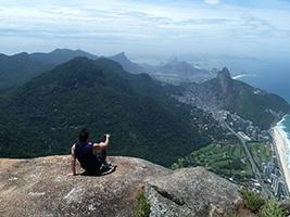 Hike up Gavea Rock, Rio de Janeiro