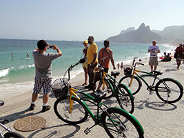 Bike Tour - Beaches, Rodrigo de Freitas Lagoon, Botanical Garden and Sunset, Rio de Janeiro