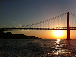 Sunset Cruise by Motor Boat, Lisbon