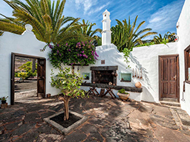 Cesar Manrique's House and Museum in Haria, Lanzarote
