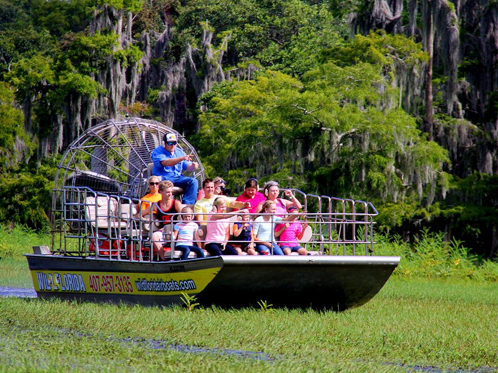 A Florida mais selvagem com transporte