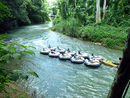 Jungle river tubing, Montego Bay (and vicinity)