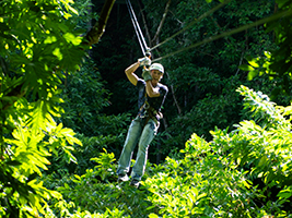Zipline adventure, Montego Bay (and vicinity)