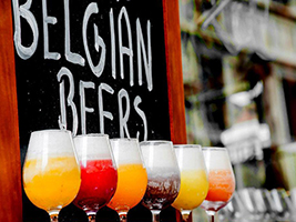 Guided beer tour and beer tasting in Spanish, Brussels