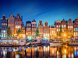 Guided Tour of Amsterdam in Spanish, Brussels