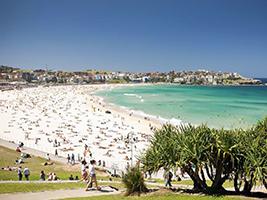 City, Harbour and Bondi Beach, Sydney - NSW