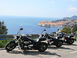 Dubrovačko Primorje and traditional villages motorbike tour, Dubrovnik-South Dalmatia