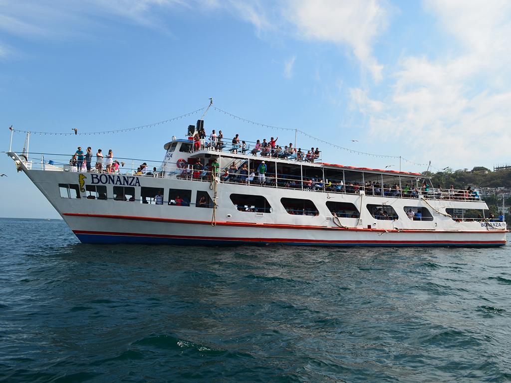 Crucero por la bahía de Acapulco