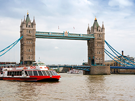 24 Hour River Cruise and Madame Tussauds, London