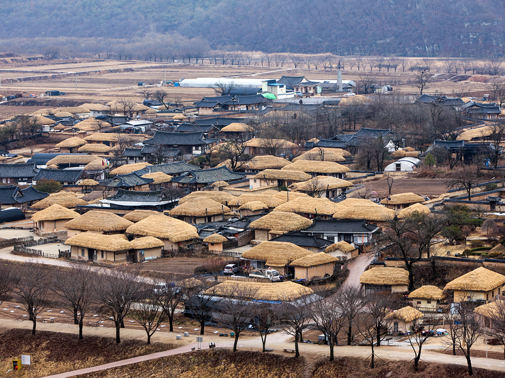 raditional village from the Joseon Dynasty