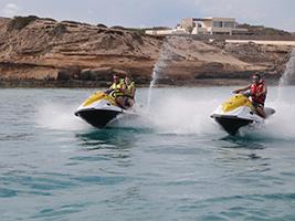 Es Vedra Excursion by Aquatic Motorbike, Ibiza