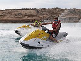 Excursion by aquatic motorbike to Ses Margalides, Ibiza